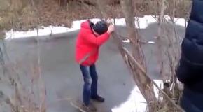 Как проверить прочность льда