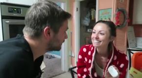 Муж сказал жене о том  что она беременна