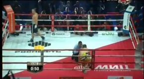 Бокс: Денис Лебеденв отправляет в нокаут Павла Колодзея