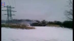 Горловка - Самоходная артиллерийская установка (Январь 2015)