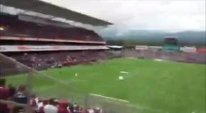 Матч чемпионата Коста-Рики был прерван из-за угрозы взрыва на стадионе