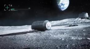3D база на Луне