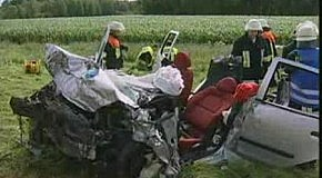 Краш-Тест Renault Laguna