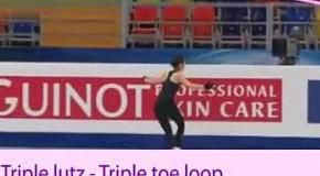 Корейский фигурного катания звезды Ким Ю-На