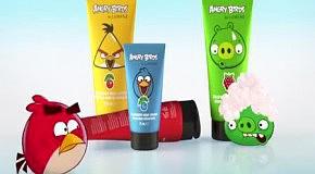 Angry Birds в рекламе косметики Lumene