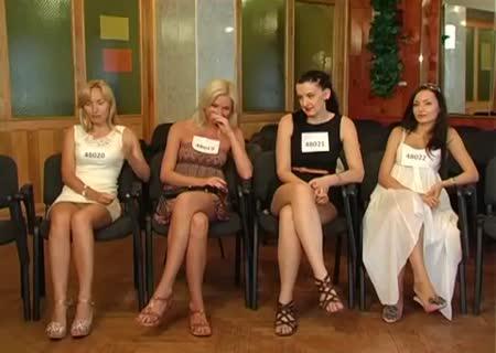 Кастинг украинских девок