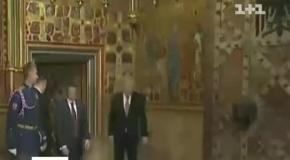 Президент Чехии появился пьяным на публике