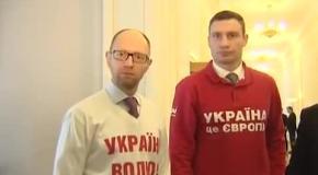 Лідери опозиції висловили підтримку Юрієві Левченку