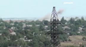 Дзиндзя показал, как обстреливали село под Мариуполем