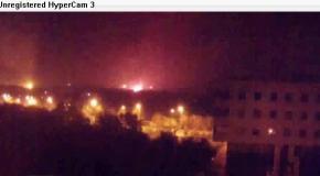 Донецк, 26.09: пожар в аэропорту
