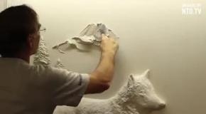 Современная настенная живопись и скульптура