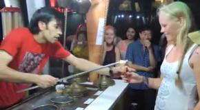 Первый человек, победивший турецкого мороженщика