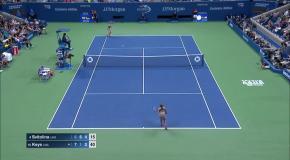 Поражение Свитолиной от Киз на US Open 2017