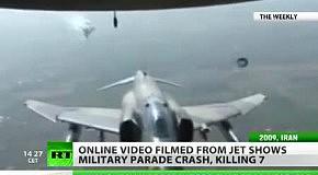 Ил-76 взорвался в воздухе