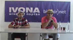Голос країни: Дмитрий Иващенко и Роман Стоколос в гостях редакции IVONA bigmir)net