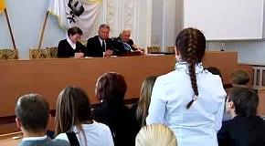Зустріч мера Чернігова з активом учнівського самоврядування шкіл