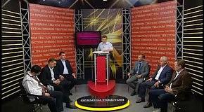 Юрій Михальчишин на передачі «Прямим текстом»