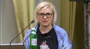 Виступ Ірини Сех на сесії Львівської облради