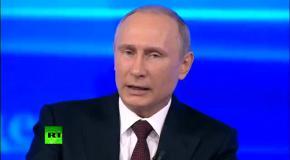 Путин: Россия не присоединяла Крым
