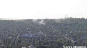В Луганске дымят жилые кварталы (2.07)