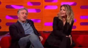 Michelle Pfeiffer Shocks De Niro With Filthy Language