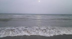 Затока. Вечернее море.