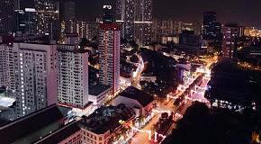 Сингапур в Time Lapse  Красиво