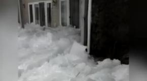 Ледяной цунами в Миннесоте