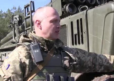 ВСУ проводят учения вЛуганской области с применением  реактивных систем шторм