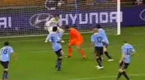 Нидерланды-Уругвай-2:1 ЧМ 2010