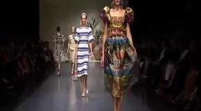 Dolce & Gabbana: весна-лето 2013