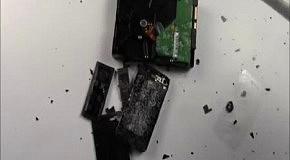 Суровый тест защитной пленки для нового iPhone 5