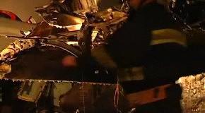 Авиакатастрофа в Донецке (видео с места крушения)