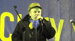 Виступ Ірини Фаріон на Майдані Незалежности