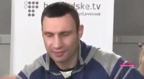 Оговорки Кличко: «Будь проще и говори на понятном для людей языке»