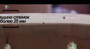 Уникальная парофитосауна от Рос Кедр для оздоровительных целей. Репортаж телеканала 'Мой город'