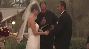 Отвратительная погода для свадебной церемонии