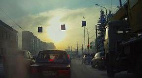 Наглый угон при сотрудниках ДПС в Челябинске