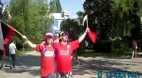 Русские на Евро-2012 (Донецк)