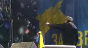 Виступ Юрія Ботнара на Майдані Незалежності