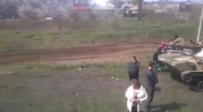 Сепаратисты блокируют технику возле Краматорска