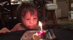Малыш и непобедимая свеча