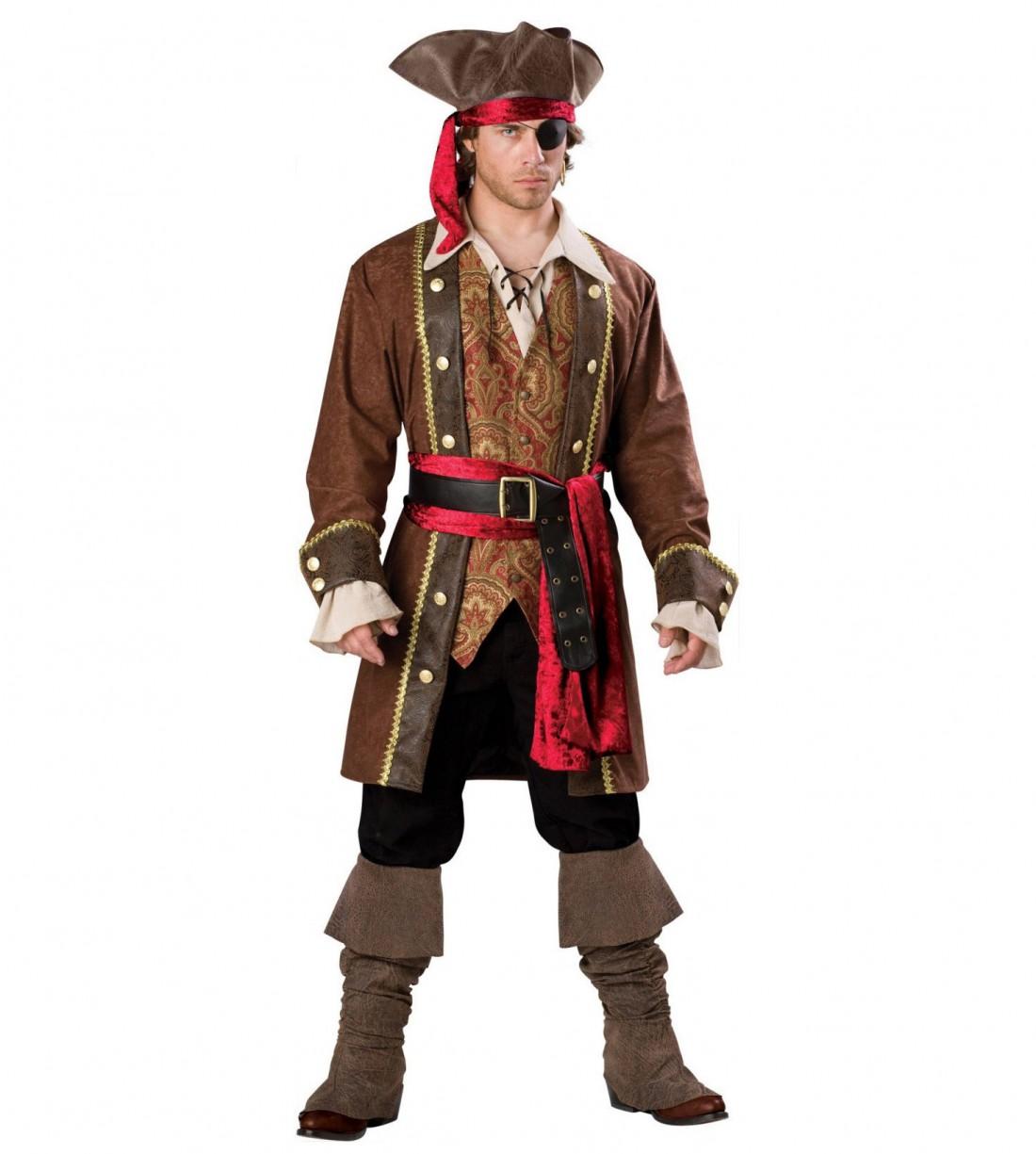 Образ капитана корабля дополни пиратской шляпой