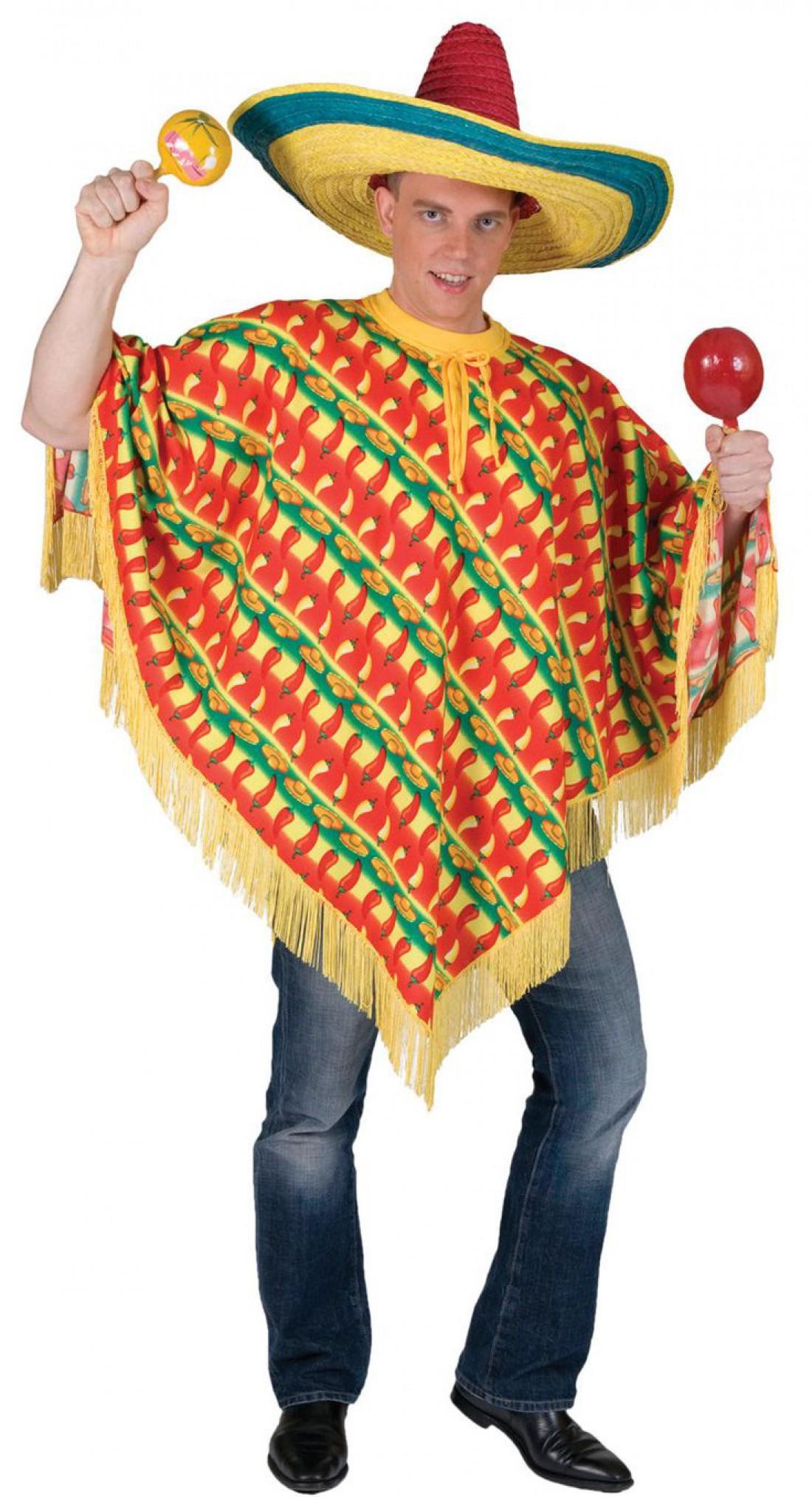 Как стать знойным мексиканцем — надень сомбреро и полосатое пончо