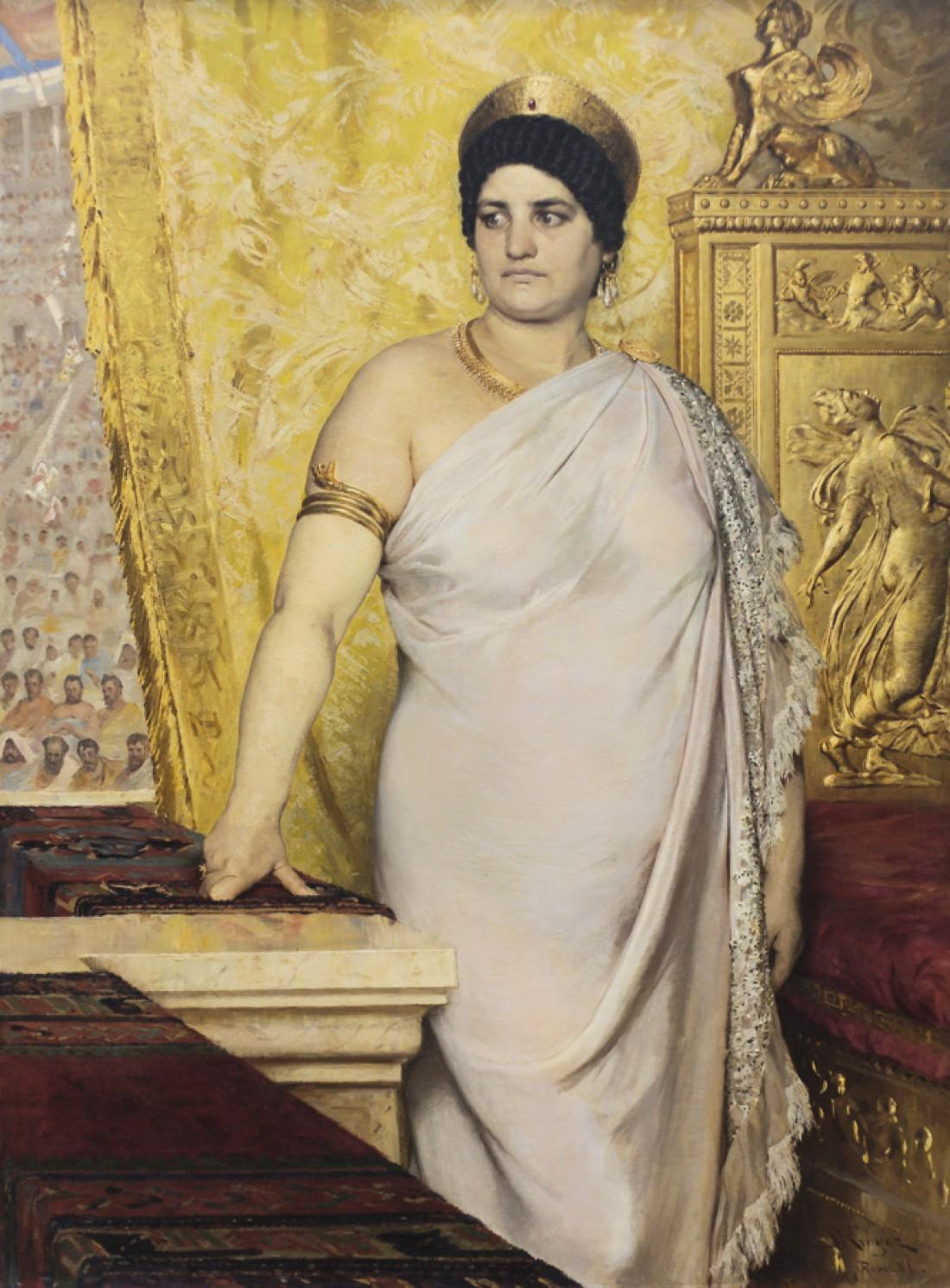 Валерия Мессалина. Жена римского императора, подрабатывала по ночам в публичном доме