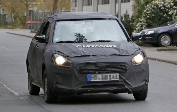 Новый Suzuki Swift впервые замечен на тестах