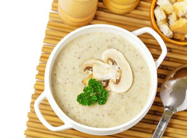 Рецепт                  Крем-суп из шампиньонов