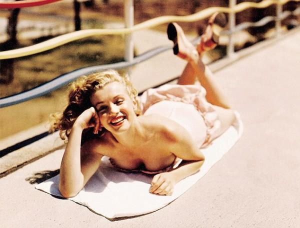 17 редких фото Мерлин Монро