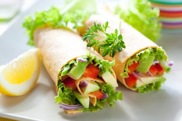 Рецепт                  Овощное ассорти в лаваше
