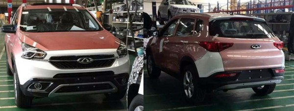 Tiggo 7 на заводе в Китае